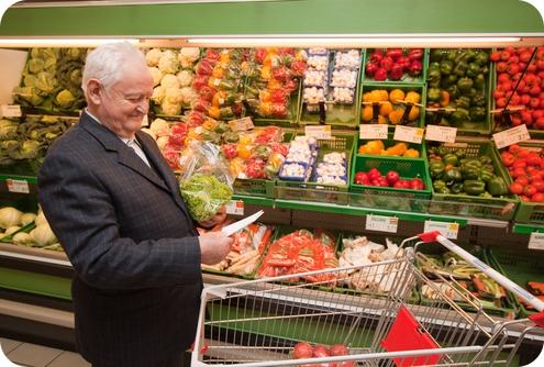 питание пожилых людей