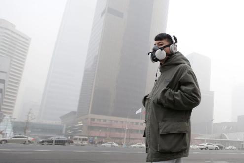 Загрязнение воздуха. Экология.