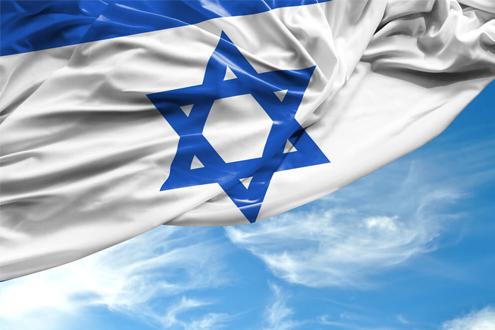 Израиль. Флаг Израиля.