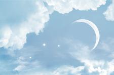 Луна. Новолуние.